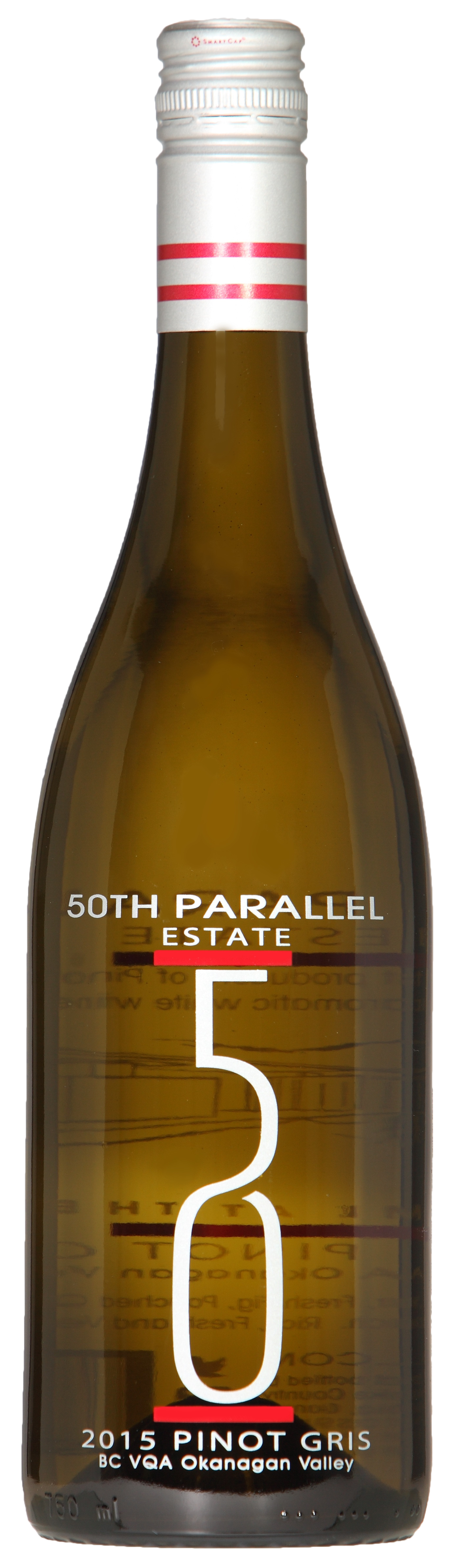 50th Parallel Estate 2015 Pinot Gris