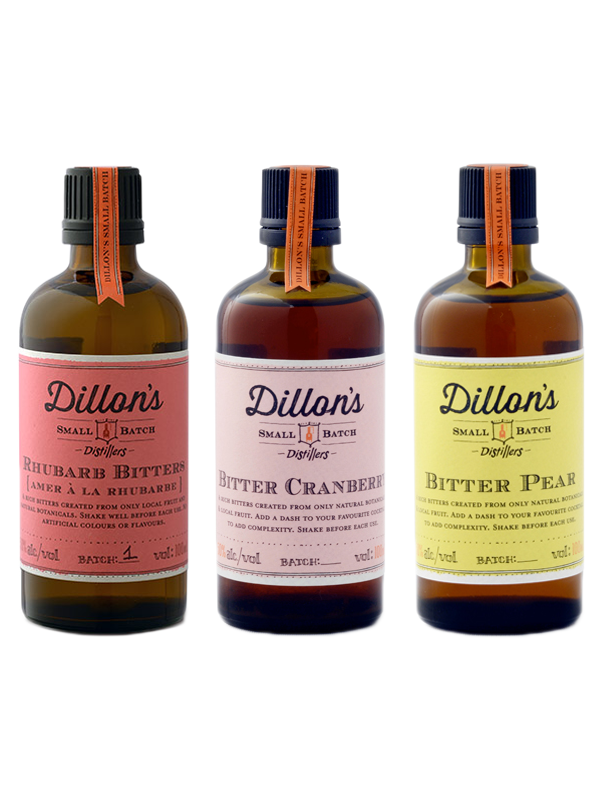 Bitters Trio - Rhubarb, Cranberry & Pear