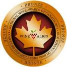 National Wine Awards of Canada 2013, Bronze Medal