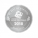 BC Best of Varietal Wine Awards 2018, Silver Medal