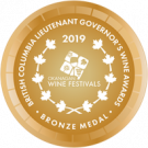 British Columbia Lieutenant Governor's Wine Awards 2019, Bronze Medal