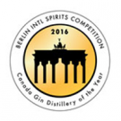 Berlin Intl Spirits Competition 2016, Canada Gin Distillery of the Year
