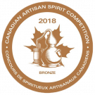 Canadian Artisan Spirit Competition 2018, Bronze Medal