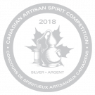 Canadian Artisan Spirit Competition 2018, Silver Medal