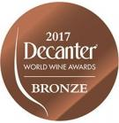 Decanter World Wine Awards 2017, Bronze Medal