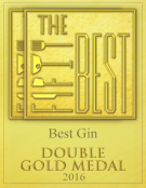The Fifty Best 2016, Best Gin, Double Gold Medal
