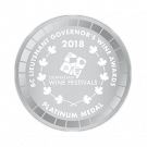 British Columbia Lieutenant Governor's Wine Awards 2018, Platinum Medal