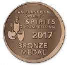 San Francisco World Spirits Competition 2017, Bronze Medal