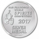 San Francisco World Spirits Competition 2017, Silver Medal