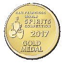 San Francisco World Spirits Competition 2017, Gold Medal