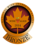 National Wine Awards of Canada 2014, Bronze Medal