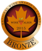 National Wine Awards of Canada 2015, Bronze Medal