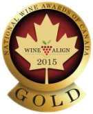 National Wine Awards of Canada 2015, Gold Award