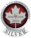 National Wine Awards of Canada 2015, Silver Medal