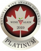 National Wine Awards of Canada 2019, Platinum Medal