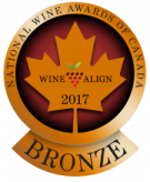 National Wine Awards of Canada 2017, Bronze Medal