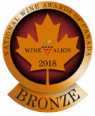 National Wine Awards of Canada 2018, Bronze Medal