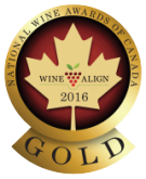 National Wine Awards of Canada 2016, Gold Medal
