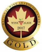 National Wine Awards of Canada 2017, Gold Medal