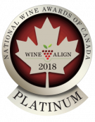 National Wine Awards of Canada 2018, Platinum Medal