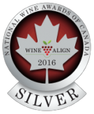 National Wine Awards of Canada 2016, Silver Medal