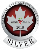 National Wine Awards of Canada 2018, Silver Medal